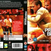 Prison Break Season 2 (2006) R1 DVD Cover