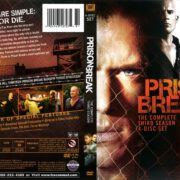 Prison Break Season 3 (2008) R1 DVD Cover