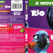 Rio Double Feature (2011-2014) R1 DVD Cover