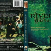 A River Runs Through It (1992) R1 DVD Cover