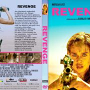 Revenge (2018) R2 CUSTOM DVD Cover & Label