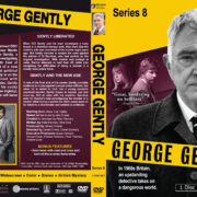 Inspector George Gently – Series 8 (2017) R1 Custom DVD Cover & Label