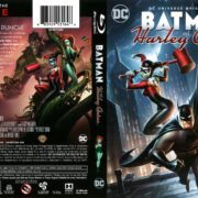 Batman and Harley Quinn (2017) R1 Blu-Ray Cover