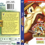Chip 'n' Dale Rescue Rangers Volume 2 (2013) R1 DVD Cover
