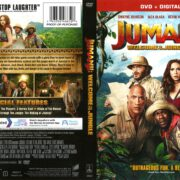 Jumanji: Welcome to the Jungle (2017) R1 DVD Cover