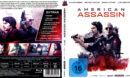 American Assassin (2017) R2 German Custom Blu-Ray Covers & Label