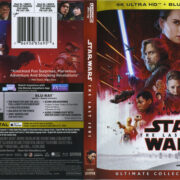 Star Wars: The Last Jedi (2018) UHD 4K Cover & Labels
