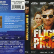Flight Of The Phoenix (2004) R1 Blu-Ray Cover & Label