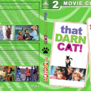 That Darn Cat Double Feature (1965-1997) R1 Custom Blu-Ray Cover