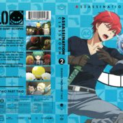 Assassination Classroom Season 2 Part 2 (2017) R1 Blu-Ray Covers