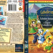 Saludos Amigos/The Three Caballeros 2-Movie Collection (2008) R1 DVD Cover