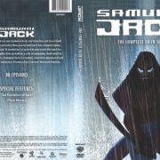 Samurai Jack Season 5 (2015) R1 DVD Cover