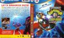 Superhuman Samurai Syber-Squad Volume 1 (1993) R1 DVD Cover