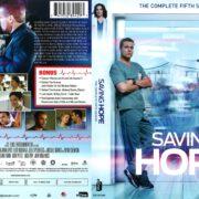 Saving Hope Season 5 (2017) R1 DVD Cover