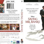 Saving Mr. Banks (2014) R1 DVD Cover