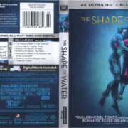 The Shape Of Water (2017) R1 Blu-Ray Cover & Labels
