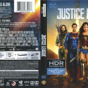 Justice League (2018) R1 UHD 4K Cover & Labels