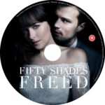 Fifty Shade Freed (2107) R0 CUSTOM DVD Label