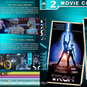 Tron Double Feature (1982-2010) R1 Custom Blu-Ray Cover