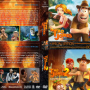 Tad The Lost Explorer Double Feature (2012-2017) R1 Custom DVD Cover