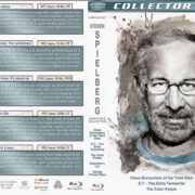 Steven Spielberg Director's Collection (1977-1998) R1 Custom Blu-Ray Covers