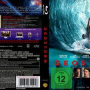 Geostorm (2017) R2 Custom German Blu-Ray Covers