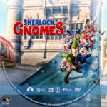 Sherlock Gnomes (2018) R1 Custom DVD Label