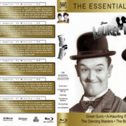 Laurel & Hardy: The Essential Collection (1941-1945) R1 Custom Blu-Ray Cover & Labels
