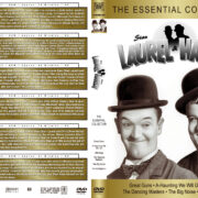 Laurel & Hardy: The Essential Collection (1941-1945) R1 Custom DVD Cover & Labels