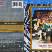 Jumanji (1995) R1 Blu-Ray Cover & Labels