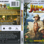 Jumanji: Welcome To The Jungle (2017) R1 4K UHD Cover & Labels