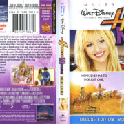 Hannah Montana: The Movie (2009) R1 Blu-Ray Cover & Labels
