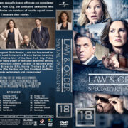 Law & Order: Special Victims Unit – Season 18 (2017) R1 Custom DVD Covers & Labels