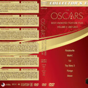 The Oscars: Best Animated Feature Film – Volume 2 (2007-2012) R1 Custom Labels & DVD Cover