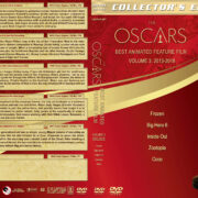 The Oscars: Best Animated Feature Film – Volume 3 (20013-2018) R1 Custom DVD Cover & Labels