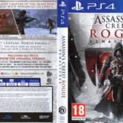 Assassin's Creed Rogue Remastered (2018) PAL PS4 Cover & Label