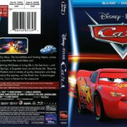 Cars Disney Movie Club Exclusive Cover (2017) R1 Blu-Ray Cover