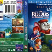 The Rescuers 2-Movie Collection (2012) R1 Blu-Ray Cover