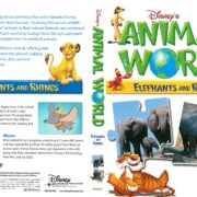 Disney's Animal World: Elephants and Rhinos (2007) R1 DVD Cover
