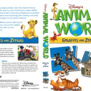 Disney's Animal World: Giraffes and Zebras (2007) R1 DVD Cover