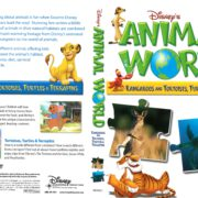 Disney's Animal World: Kangaroos and Tortoises, Turtles & Terrapins (2007) R1 DVD Cover