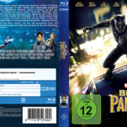 Marvel's Black Panther (2018) R2 German Custom Blu-Ray Covers & Labels