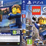 LEGO City Undercover (2017) PAL PS4 Cover & Label