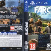 Far Cry 5 (2018) PAL PS4 Cover
