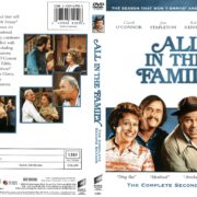All in the Family Season 2 (1971) R1 DVD Cover