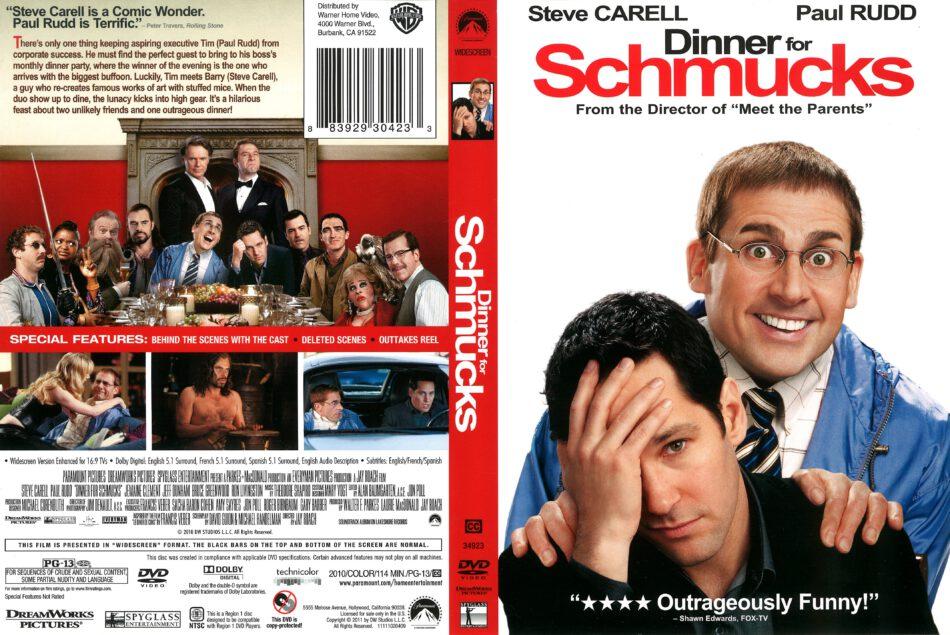 Dinner for Schmucks (2011) R1 DVD Cover - DVDcover Com