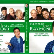 Everybody Loves Raymond Season 2 (2010) R1 DVD Cover