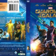 Guardians of the Galaxy (2014) R1 DVD Cover