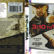 3:10 To Yuma (2007) R1 Blu-Ray Cover & Label