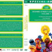 Sesame Street Collection – Volume 1 (1969-1985) R1 Custom DVD Cover